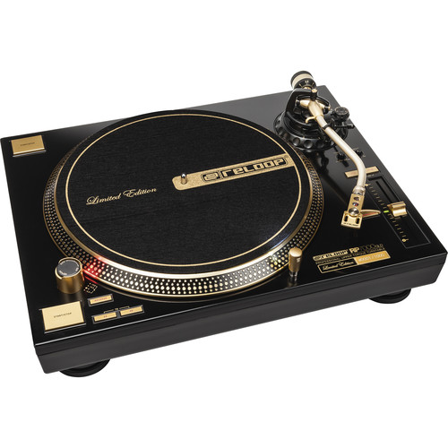 Reloop RP-7000 LTD Direct-Drive High-Torque Turntable (Gold)