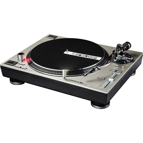 Reloop RP-7000 Direct-Drive High-Torque Turntable (Silver)