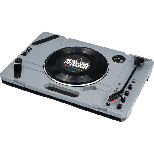 Reloop SPiN Portable Turntable System w/ Scratch Vinyl