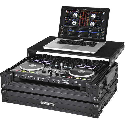 Reloop Hard Case with Sliding Laptop Shelf for Terminal Mix 8 DJ Controller