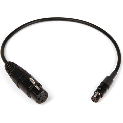 Remote Audio XLR3F to TA5F Unbalanced Mic Level Adapter Cable
