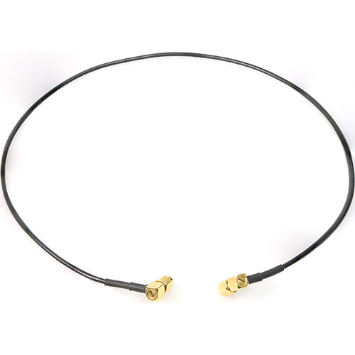 Remote Audio 50 Ohm Antenna Cables SMA Right Angle to SMA Right Angle (Pair, 2')