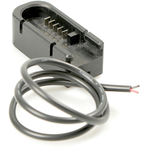 """Remote Audio V2 DC Power Cable for Hi-Q Style Batteries. Hi-Q Battery Cup to Tinned Leads. 18"""""""
