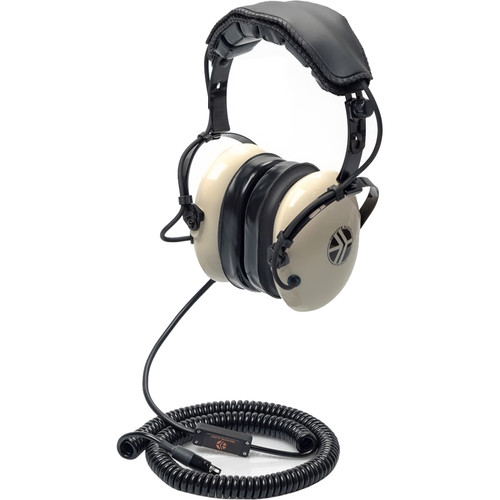 Remote Audio Hi-Noise Isolate Headset/5-24V Switchable In-Line Electret Talkback Mic.Coil Cable-TA5F/1.75'-8'