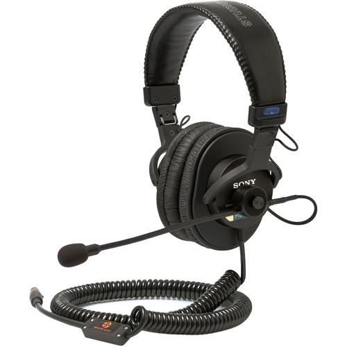 Remote Audio MDR7506HSC-S Headset with Electret Boom Microphone & Wired TA5F Connectivity