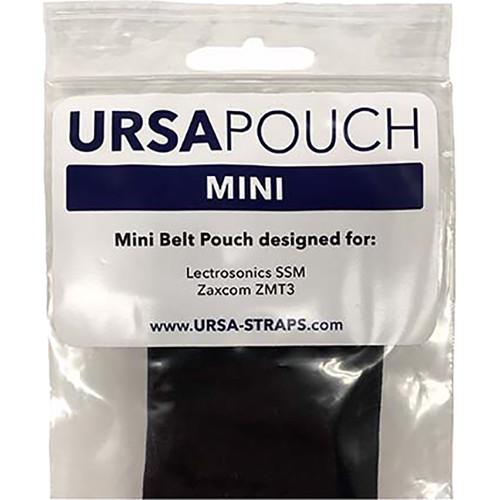Remote Audio URSA Pouch for Wireless Transmitters (Mini, Black)