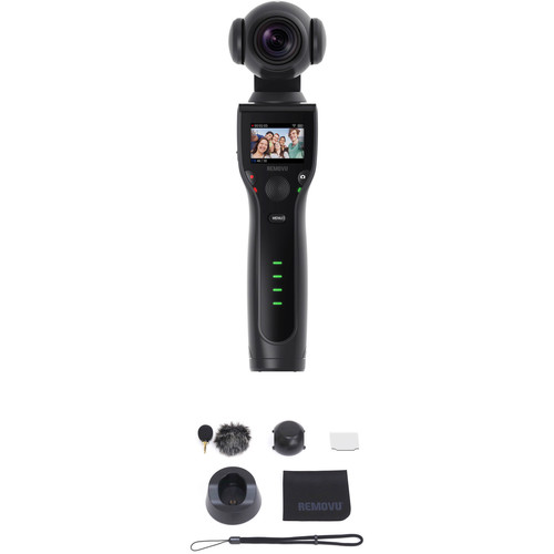 REMOVU K1 3-Axis Handheld Gimbal with 4K Camera Kit with Accessories