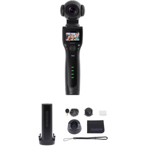 REMOVU K1 Gimbal with 4K Camera, Smart Battery & Accessories Kit