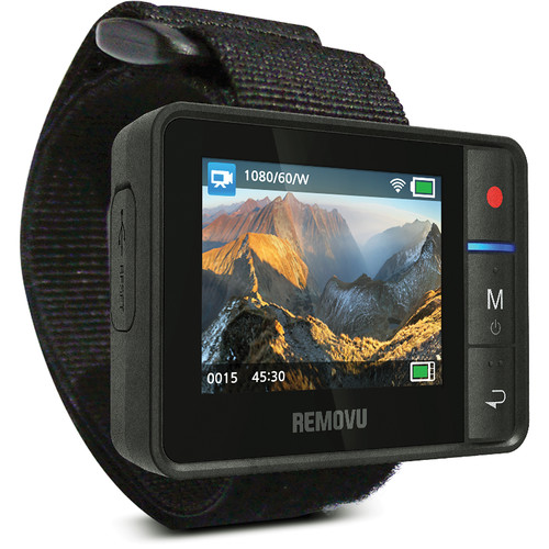 REMOVU R1 Live View Remote and Cradle Kit for GoPro
