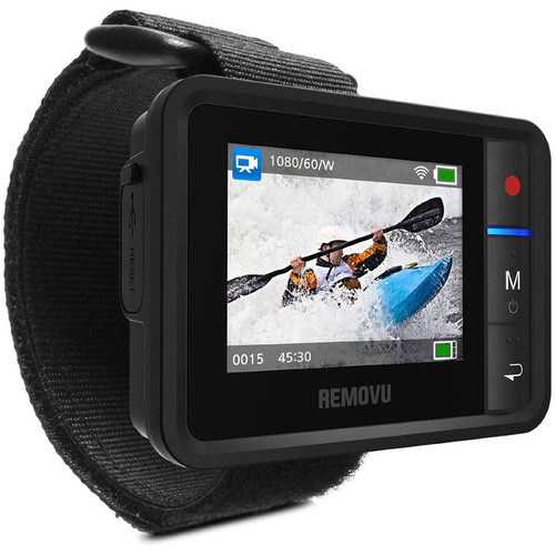 REMOVU R1+ Waterproof Wearable Wi-Fi Live View Remote for GoPro
