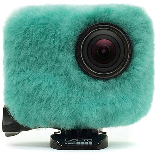 REMOVU Wind Jacket with Protective Lens for GoPro (Emerald Blue)