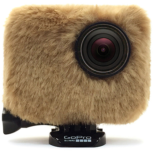 REMOVU Wind Jacket with Protective Lens for GoPro (Brown)