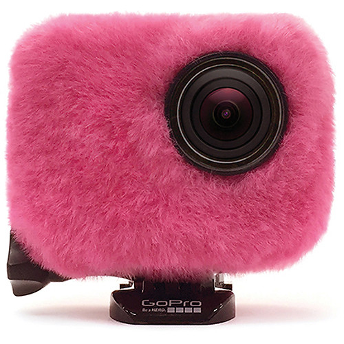 REMOVU Wind Jacket with Protective Lens for GoPro (Pink)