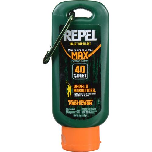 Repel Sportsmen Max Insect Repellent Lotion ( 4 oz)