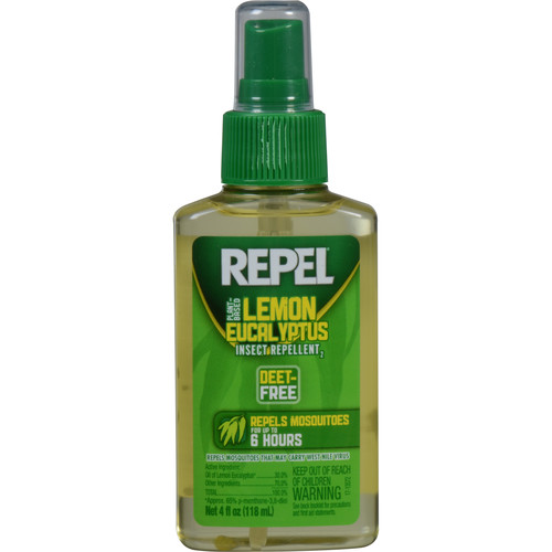 Repel Lemon Eucalyptus Insect Repellent Pump Spray (4 oz)