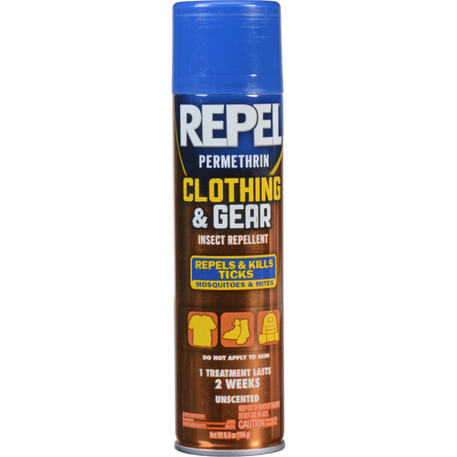 Repel Clothing and Gear Permethrin Insect Repellent Aerosol Spray (6.5 oz)