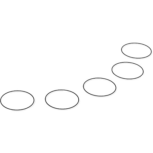 Replay XD Replacement O-Rings for Prime X Camera (5 Pack)
