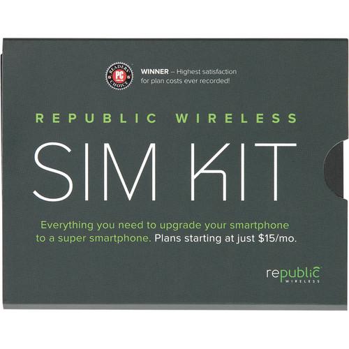 Republic Wireless GSM SIM Card Kit