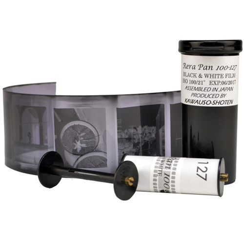 ReraPan 100 Black and White Negative Film (127 Roll Film)