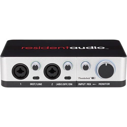 Resident Audio T2 Two-Channel Thunderbolt Audio Interface