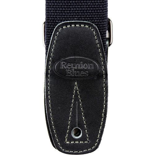 Reunion Blues Merino Wool Guitar Strap (Black)
