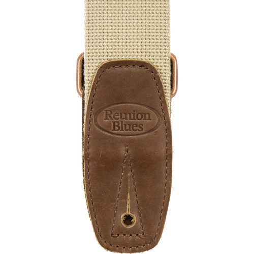 Reunion Blues Merino Wool Guitar Strap (Beige)