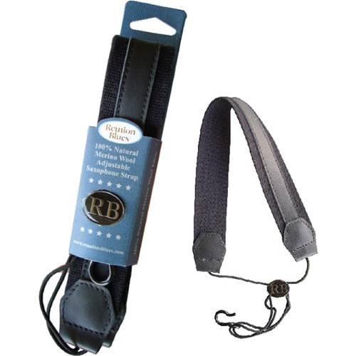 Reunion Blues Merino Wool Saxophone Strap