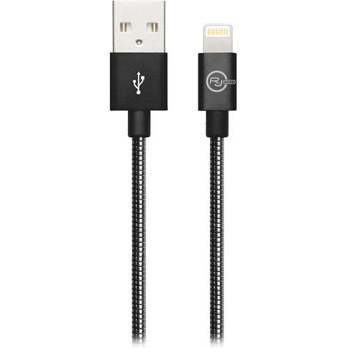 REVJAMS Lightning to USB Type-A Cable (3', Gunmetal)