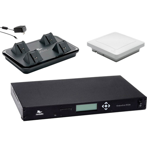 Revolabs Executive Elite 4 Channel Wireless System