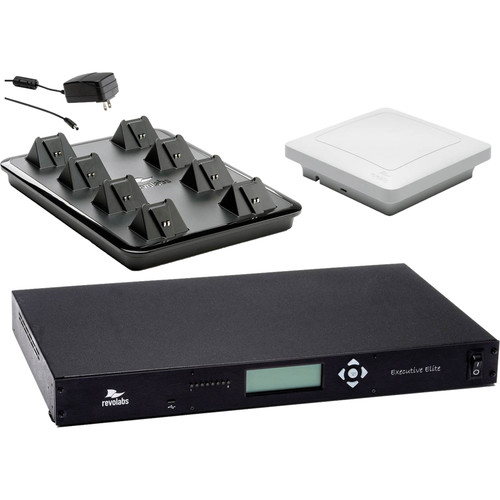 Revolabs Executive Elite 8 Channel Wireless System