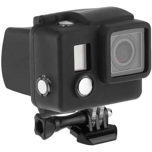 Revo Silicone Skin for GoPro HERO3+/HERO4 Standard Housing (Black)