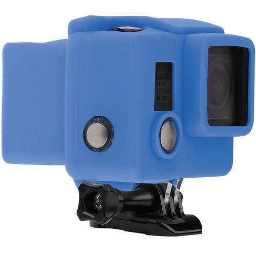 Revo Silicone Skin for GoPro HERO3+/HERO4 Standard Housing (Blue)