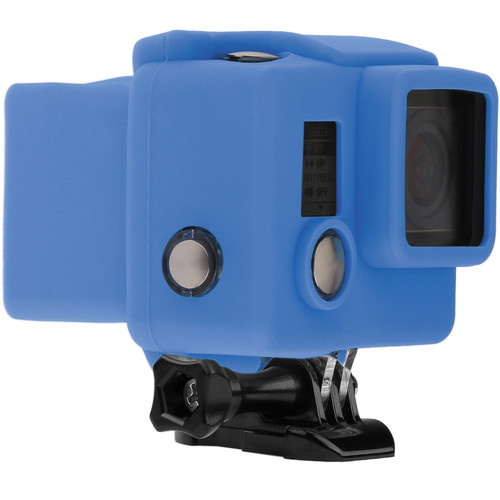 Revo Silicone Skin for GoPro HERO3+/HERO4 Standard Housing (Blue)