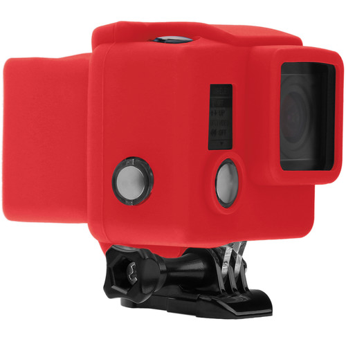 Revo Silicone Skin for GoPro HERO3+/HERO4 Standard Housing (Red)