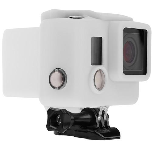 Revo Silicone Skin for GoPro HERO3+/HERO4 Standard Housing (White)