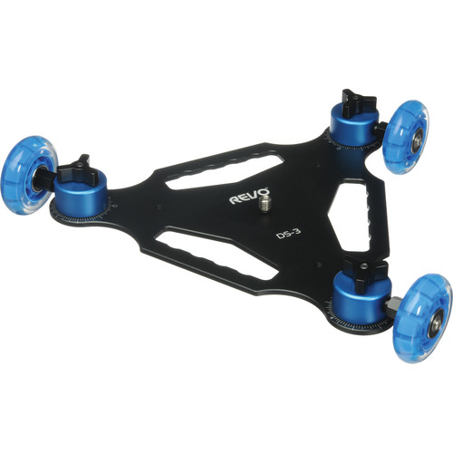Revo Tri Skate Dolly, Smartphone Mount, and Articulating Arm Kit