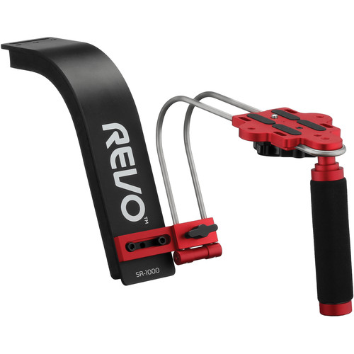 Revo SR-1000 Shoulder Support Rig (Black & Red)