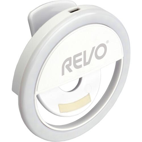 Revo Clip-On Vlog Light for Smartphones and Tablets