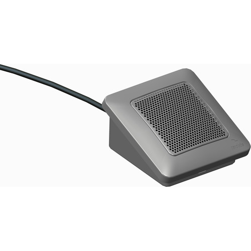 Revolabs Directional Tabletop Elite Wired Microphone with Mute Option (Brush Nickel)