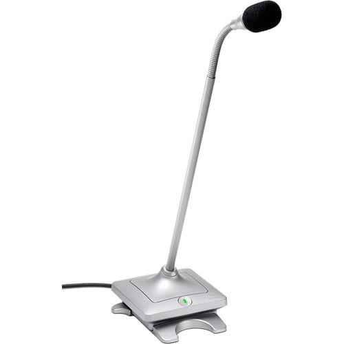 "Revolabs 12"" Gooseneck Elite Wired Microphone (Brush Nickel)"