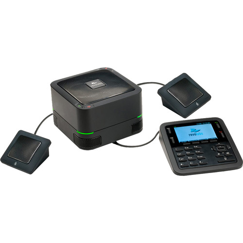 Revolabs FLX UC 1500 IP & USB Conference Phone with Extension Microphones