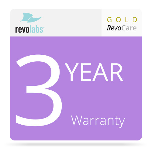 Revolabs 3-Year Gold RevoCARE Warranty for the Executive HD MaxSecure 4-Channel Wireless Microphone System