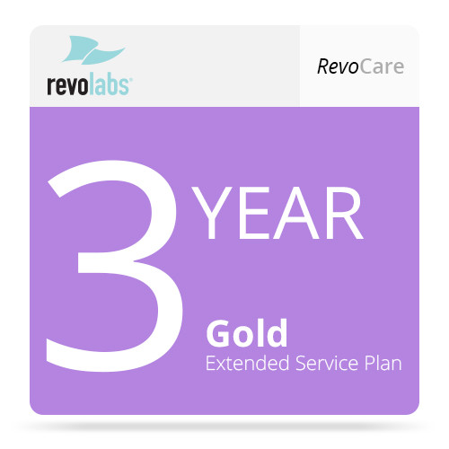 Revolabs 3-Year Gold revoCARE Extended Service Plan for HD Single Channel System (with 1 HD Microphone Coverage)