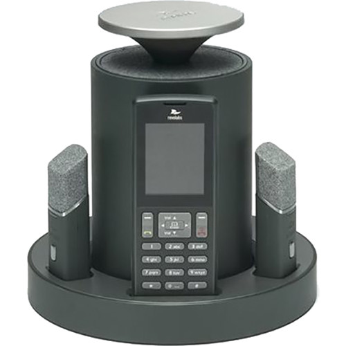 Revolabs VoIP SIP System with 2 Directional Tabletop Microphones