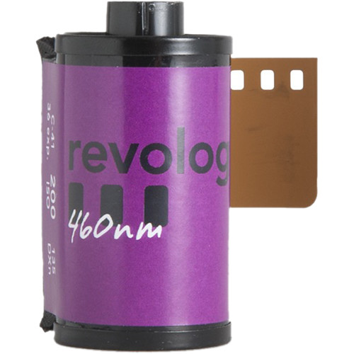 REVOLOG 460nm Special-Effect, Color Negative Film (35mm Roll Film, 36 Exposures)