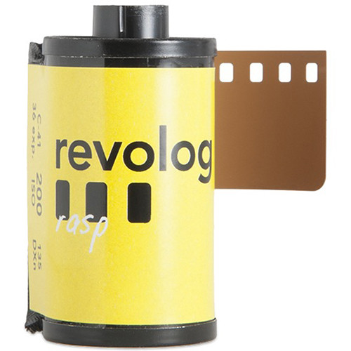 REVOLOG Rasp Special-Effect, Color Negative Film (35mm Roll Film, 36 Exposures)