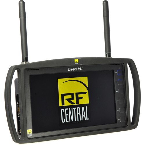 RF CENTRAL Direct VU Handheld COFDM HD Receiver/Monitor
