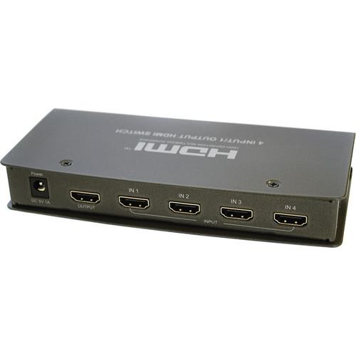 RF-Link HSW-4541 4 x 1 HDMI Switcher with IR & Auto Switch