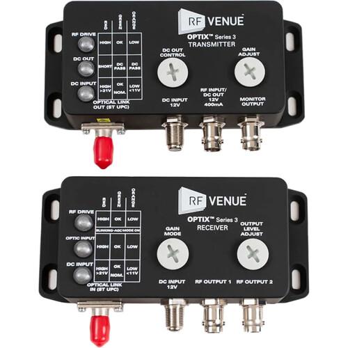 RF Venue OPTIX Series 3 RF-over-Fiber Antenna Distribution System (Single Channel)