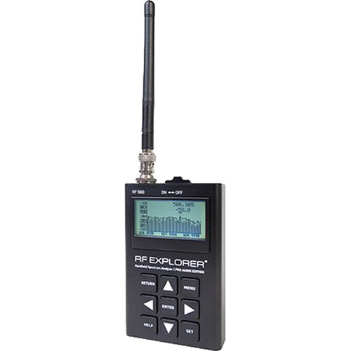 RF Venue RF Explorer Pro Audio Edition Handheld RF Spectrum Analyzer for Wireless Audio Systems
